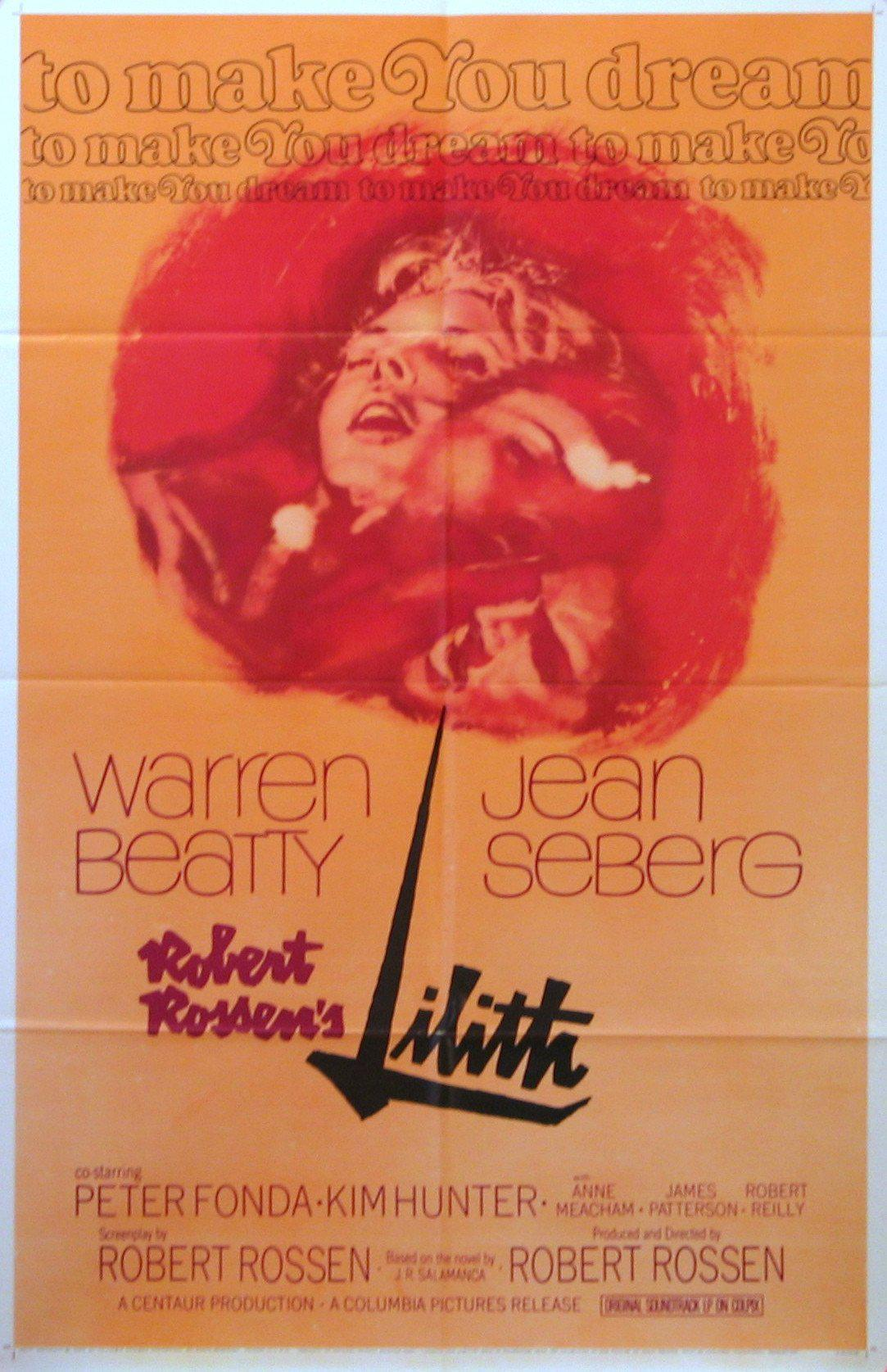 Lilith 1 Sheet (27x41) Original Vintage Movie Poster