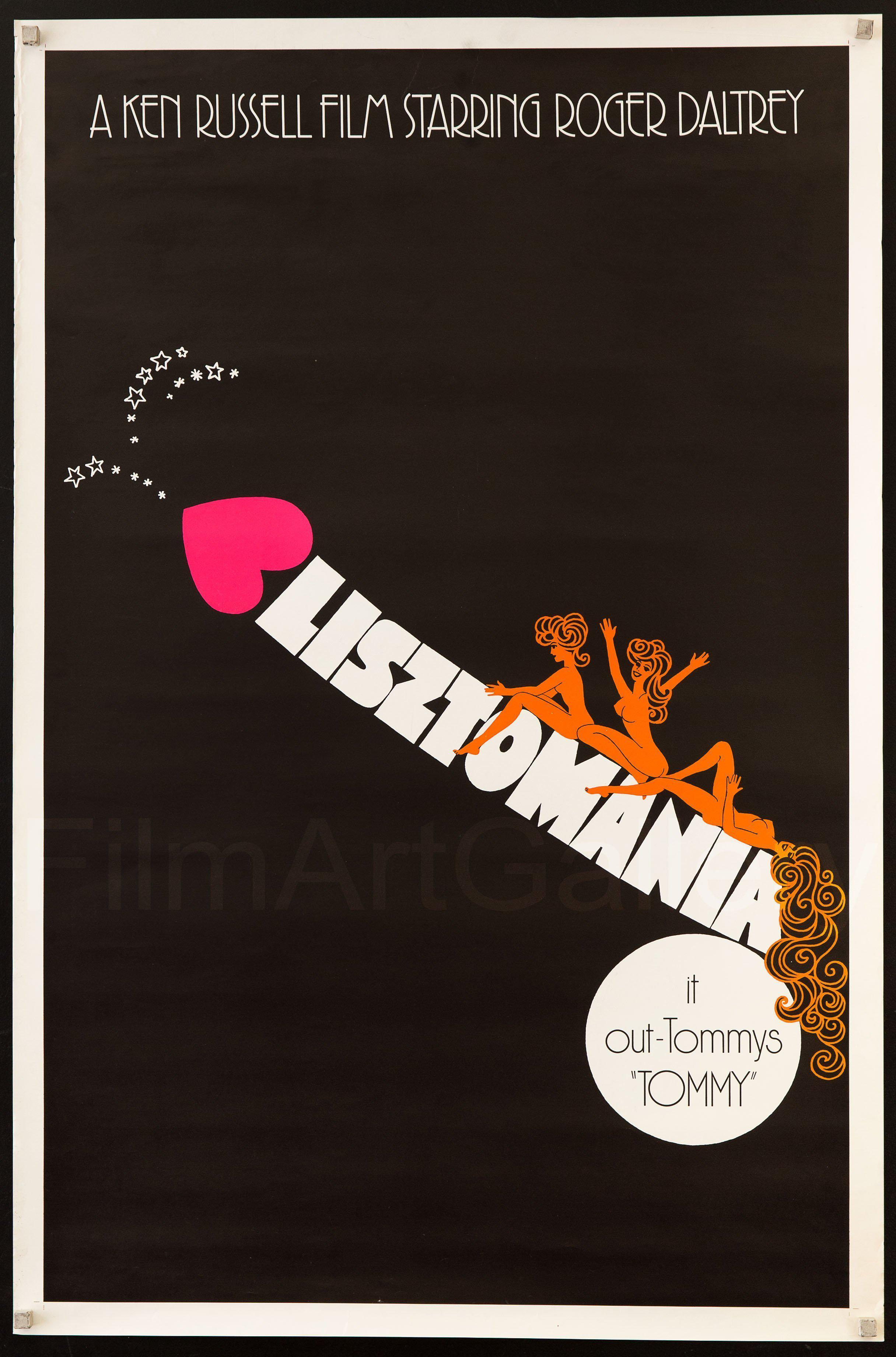 Lisztomania 1 Sheet (27x41) Original Vintage Movie Poster