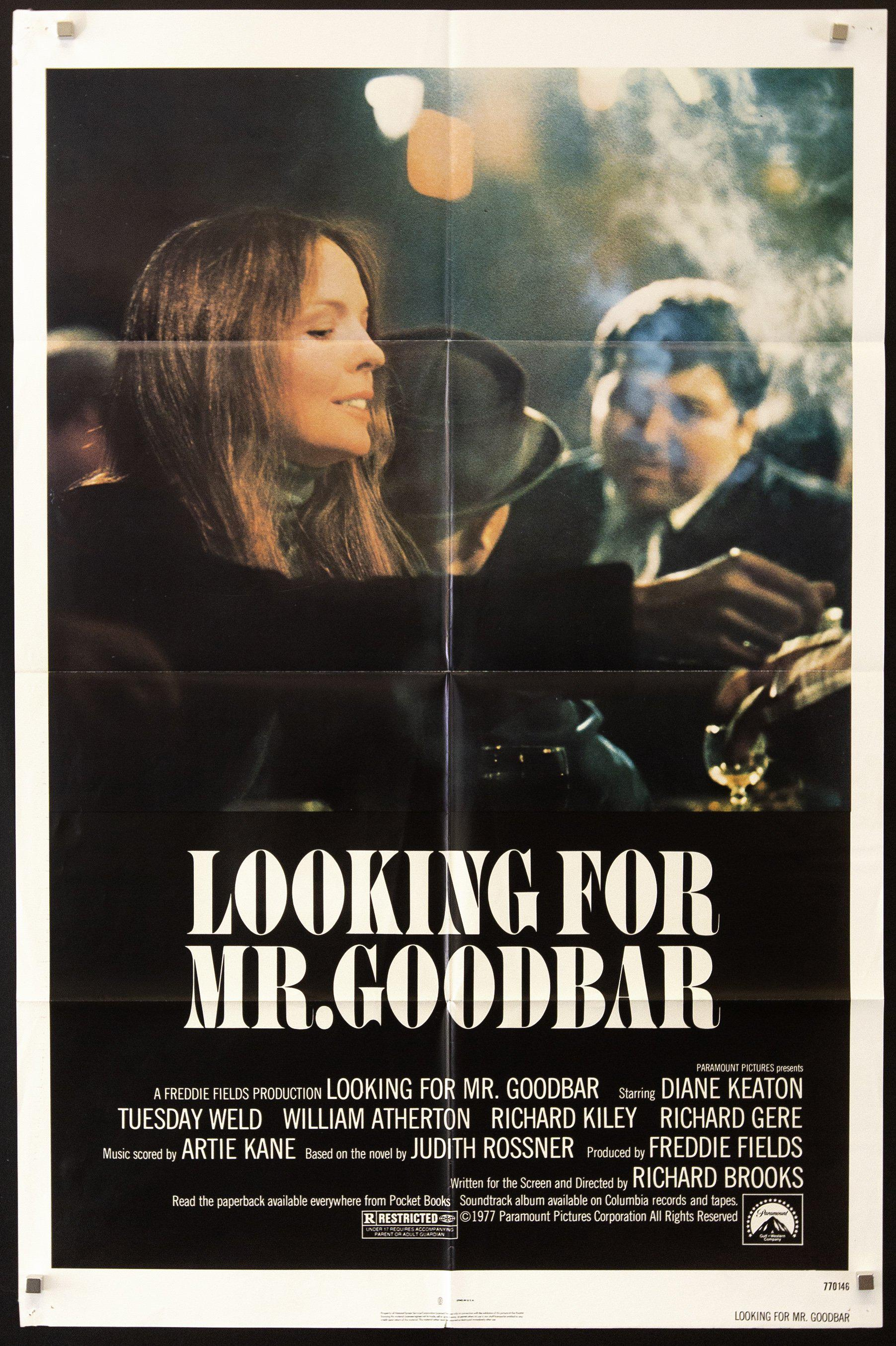Looking for Mr. Goodbar 1 Sheet (27x41) Original Vintage Movie Poster