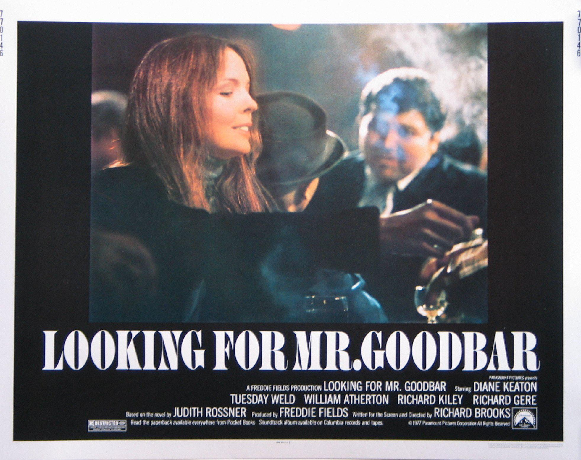 Looking for Mr. Goodbar Half sheet (22x28) Original Vintage Movie Poster