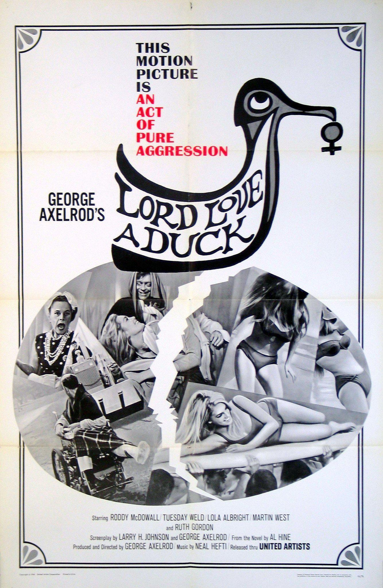 Lord Love a Duck 1 Sheet (27x41) Original Vintage Movie Poster