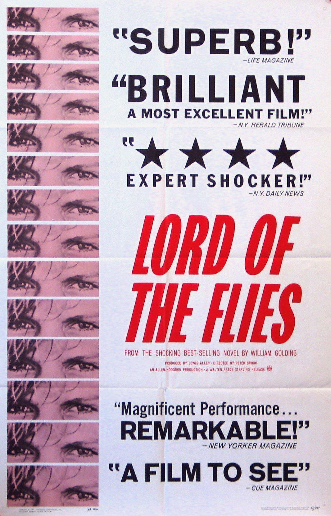 Lord of the Flies 1 Sheet (27x41) Original Vintage Movie Poster