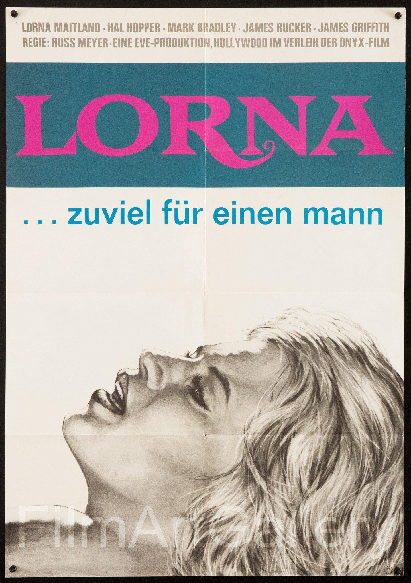 Lorna German A1 (23x33) Original Vintage Movie Poster