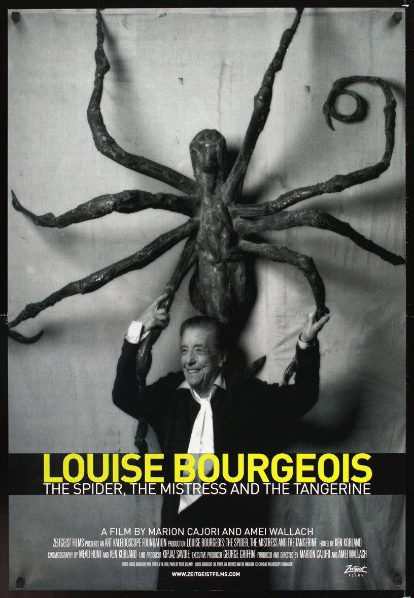 Louise Bourgeois The Spider, Mistress & Tangerine 1 Sheet (27x41) Original Vintage Movie Poster