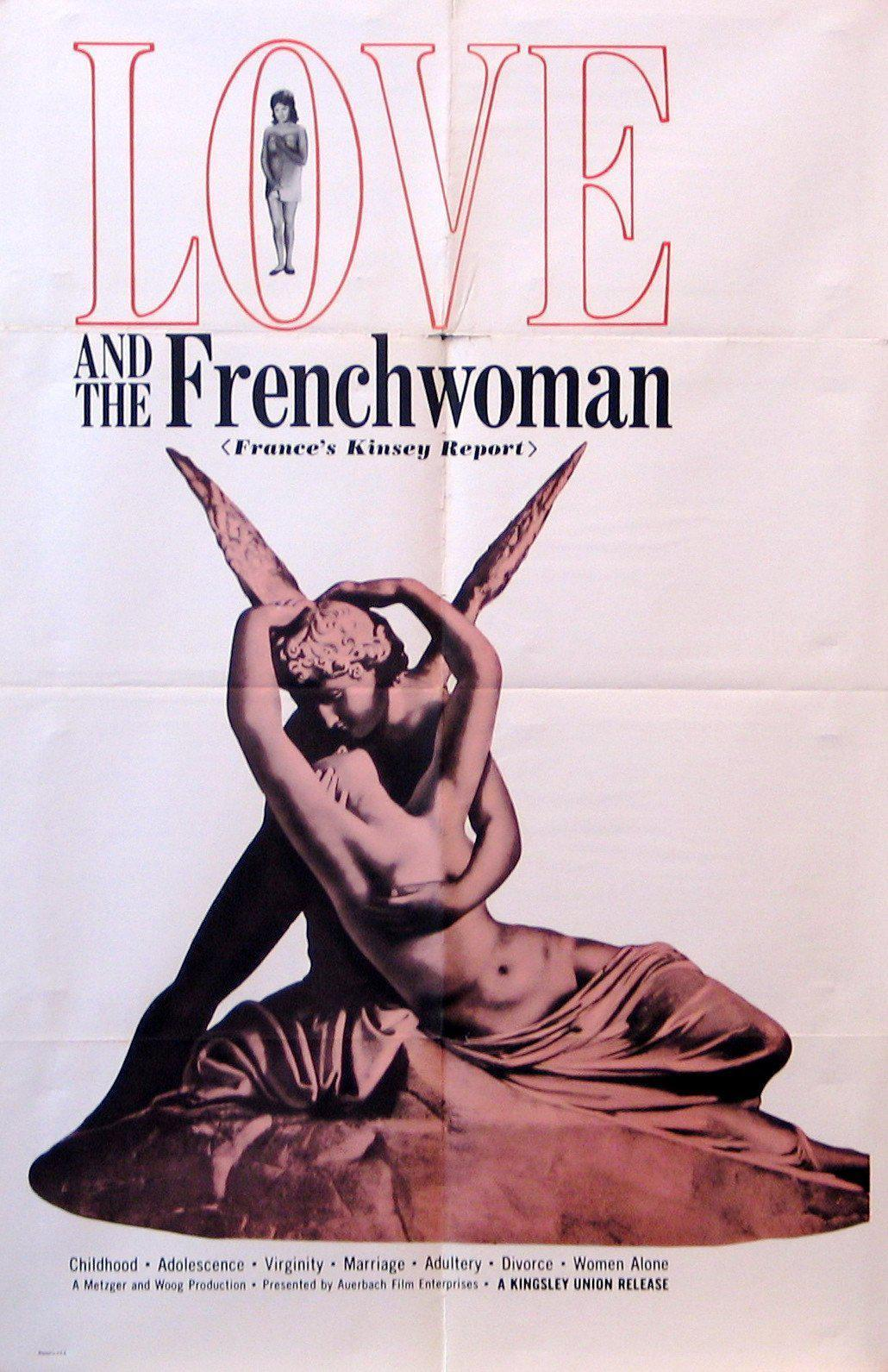 Love and the Frenchwoman 1 Sheet (27x41) Original Vintage Movie Poster