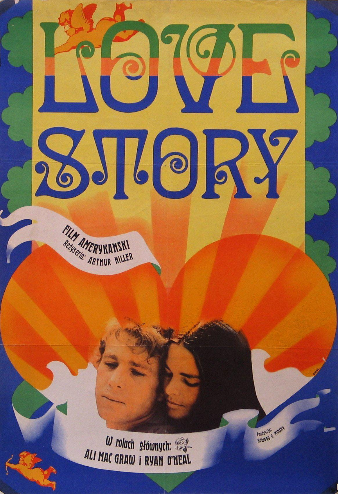 Love Story Polish A1 (23x33) Original Vintage Movie Poster