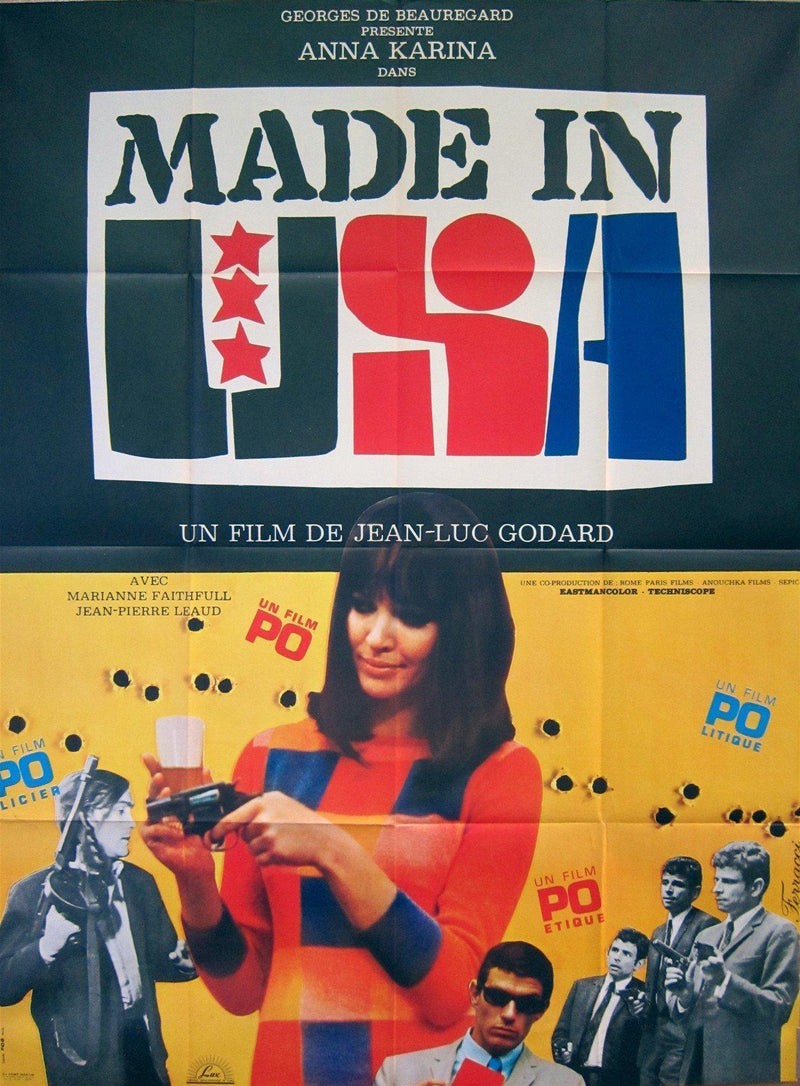 Made in USA French 1 panel (47x63) Original Vintage Movie Poster
