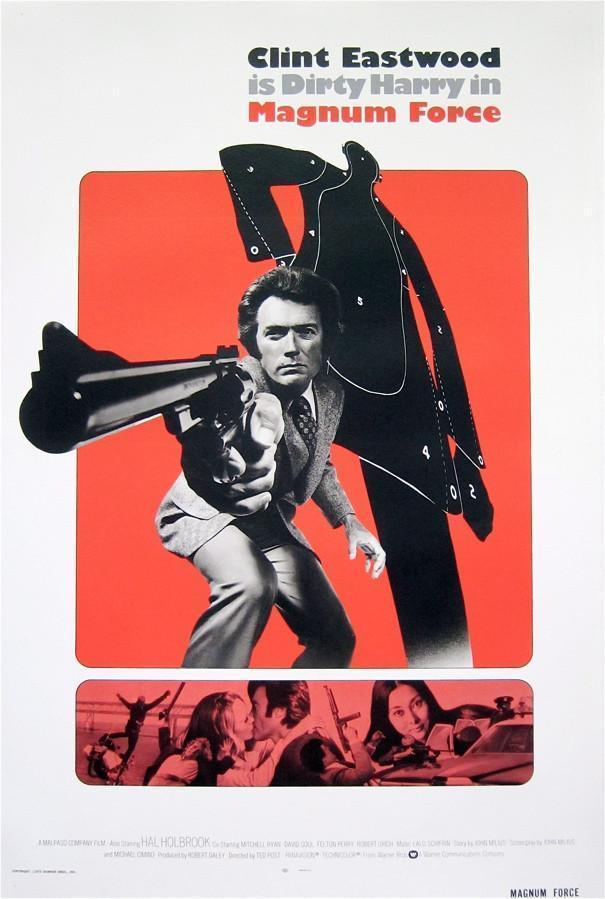 Magnum Force 1 Sheet (27x41) Original Vintage Movie Poster