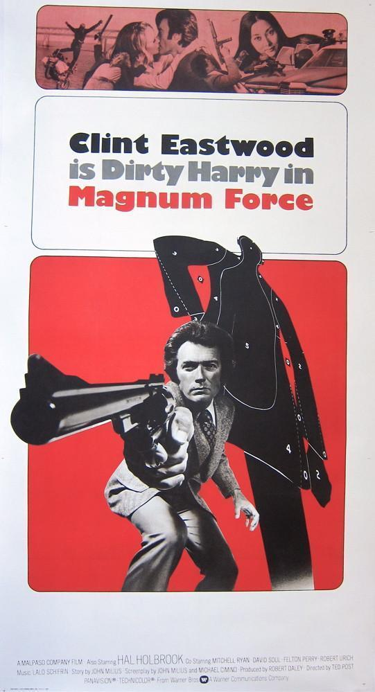 Magnum Force 3 Sheet (41x81) Original Vintage Movie Poster