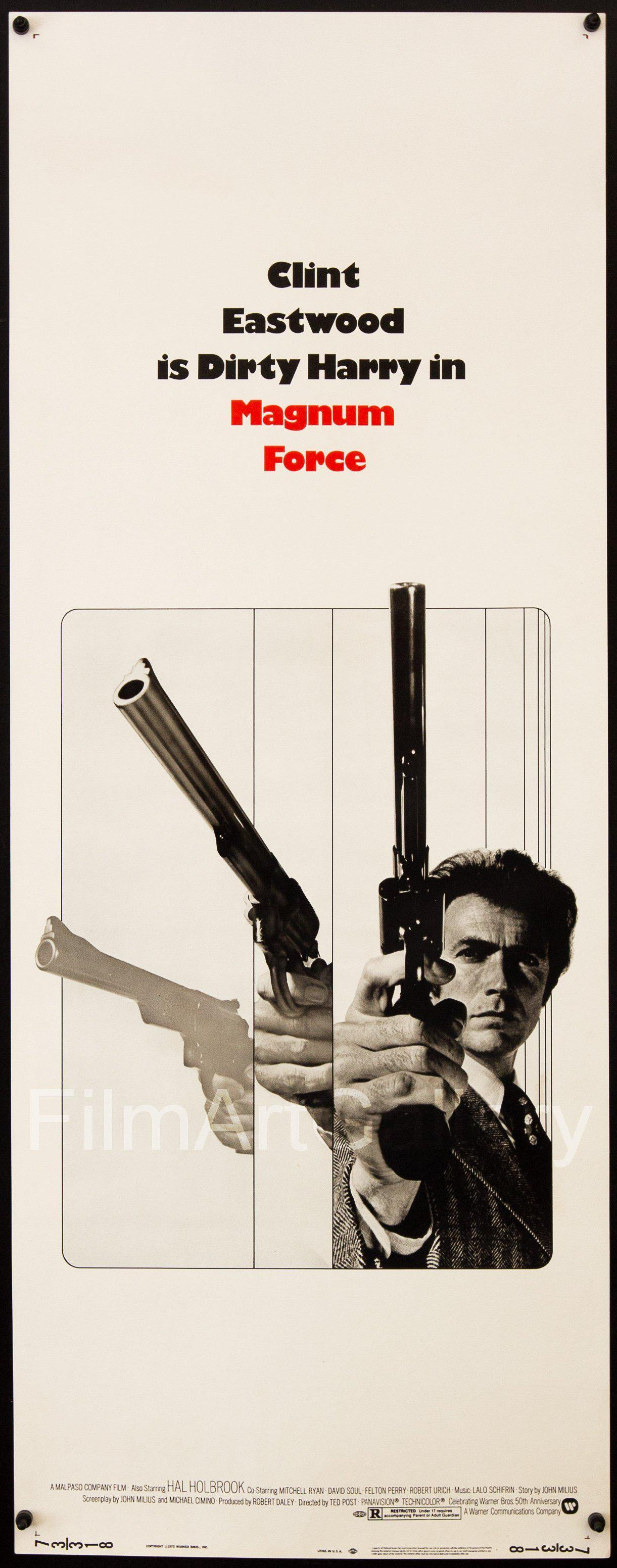 Magnum Force Insert (14x36) Original Vintage Movie Poster