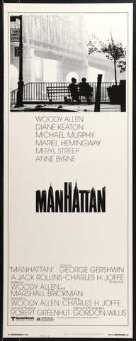 Manhattan Insert (14x36) Original Vintage Movie Poster