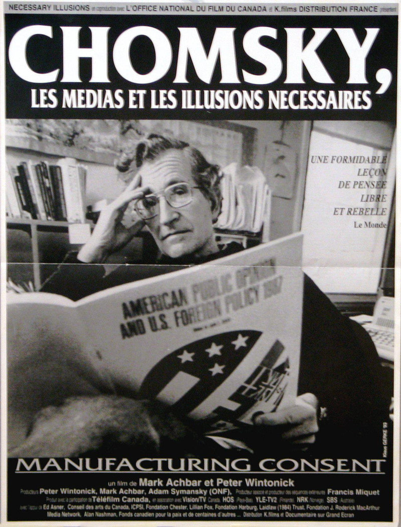 Manufacturing Consent French mini (16x23) Original Vintage Movie Poster