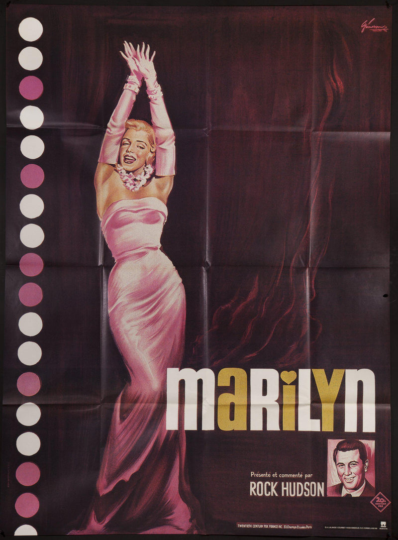 Marilyn French 1 panel (47x63) Original Vintage Movie Poster