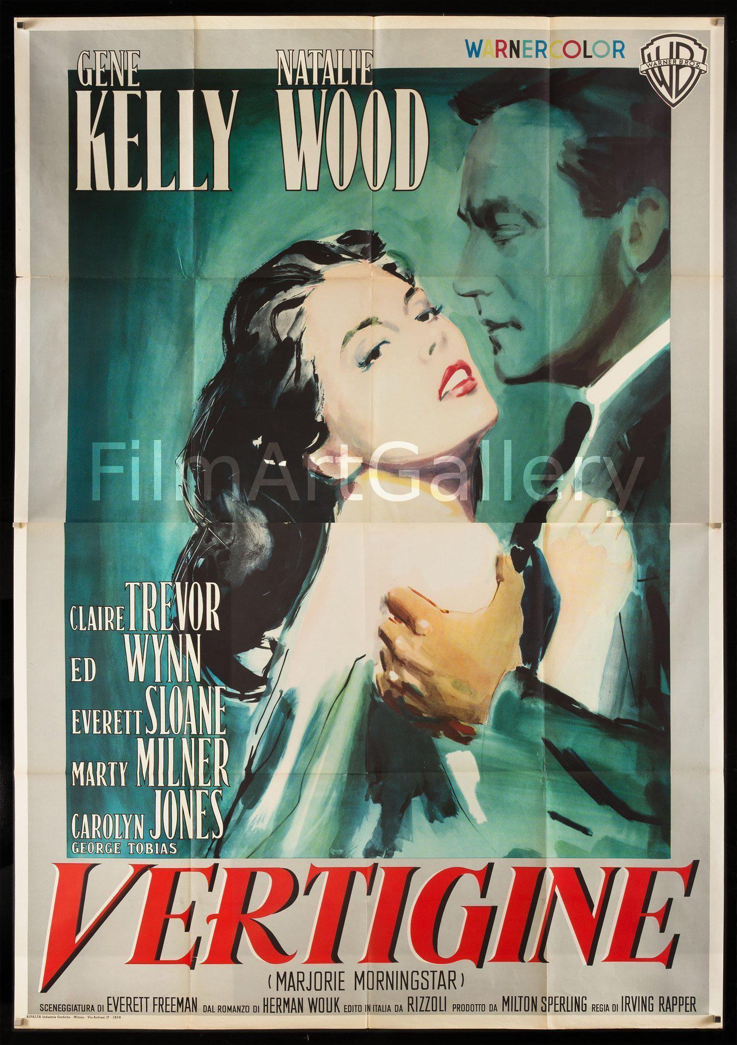 Marjorie Morningstar Italian 4 foglio (55x78) Original Vintage Movie Poster
