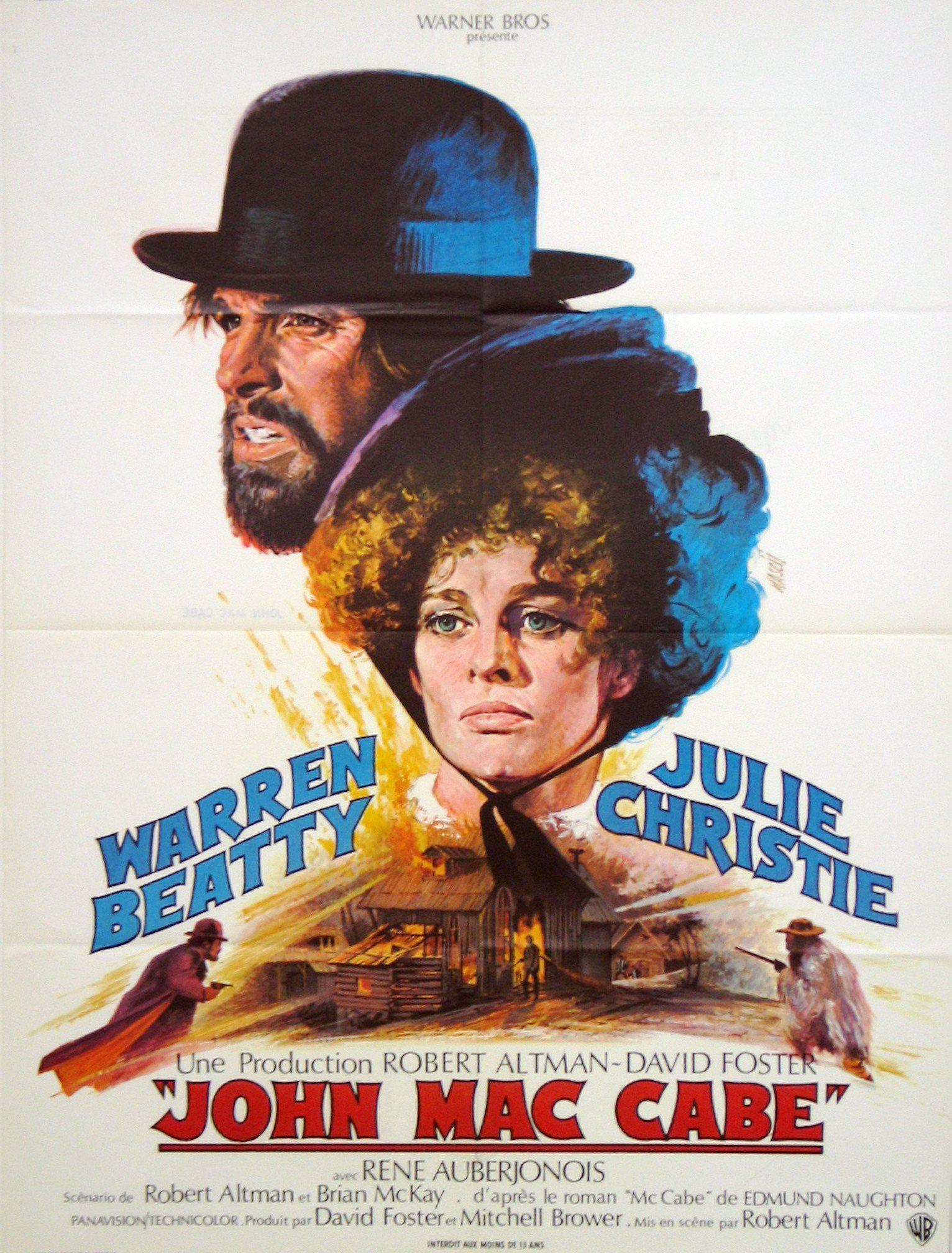 McCabe & Mrs. Miller French small (23x32) Original Vintage Movie Poster