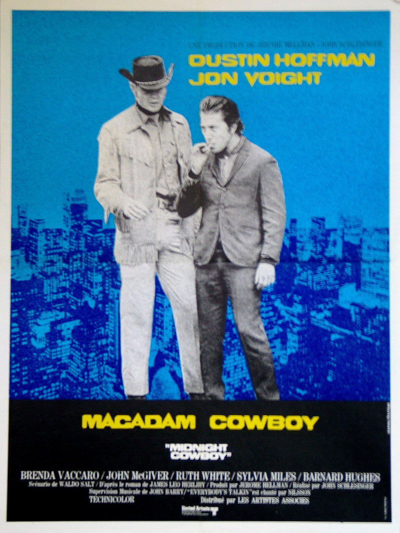 Midnight Cowboy French small (23x32) Original Vintage Movie Poster