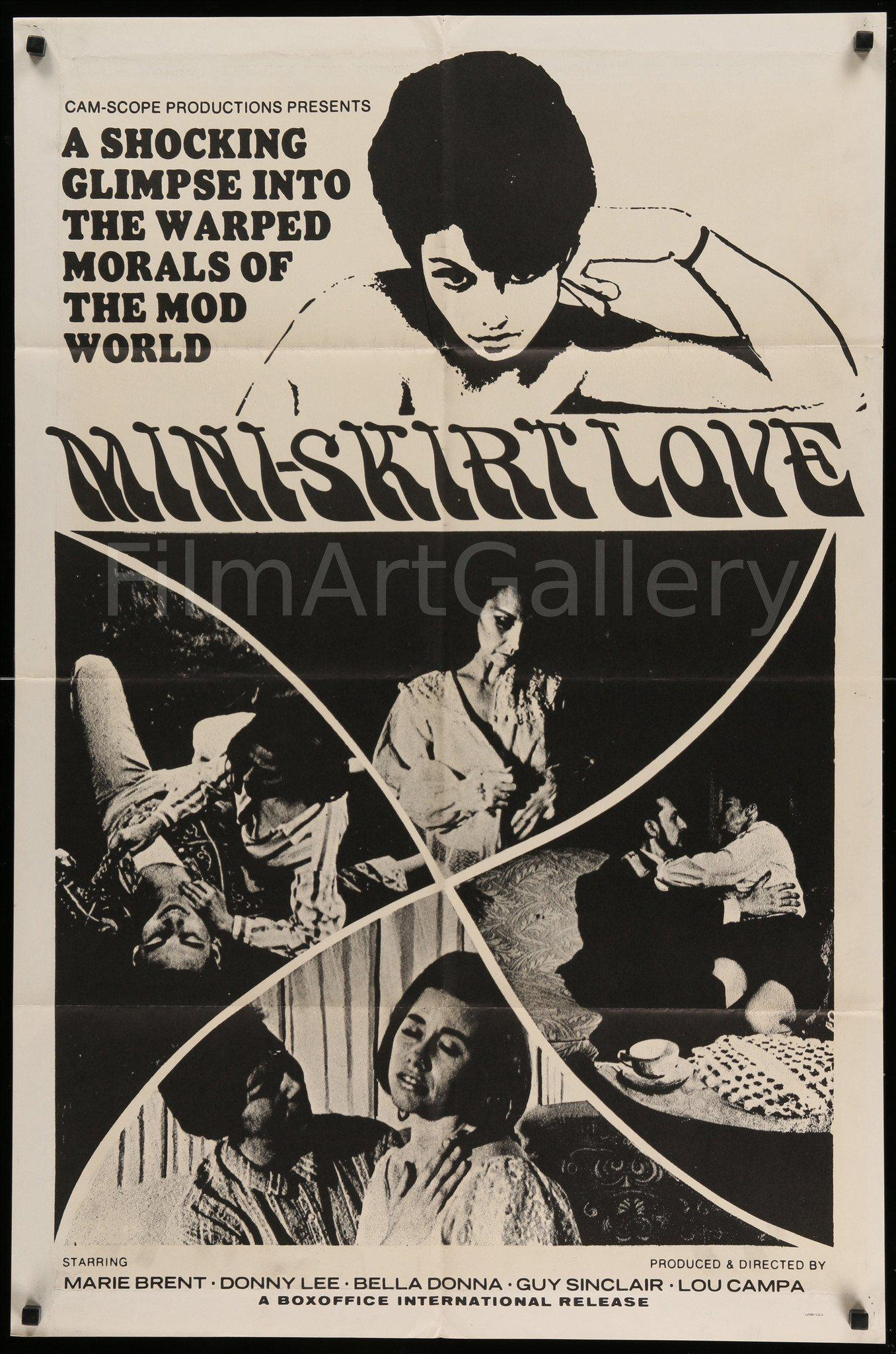 Mini Skirt Love 1 Sheet (27x41) Original Vintage Movie Poster