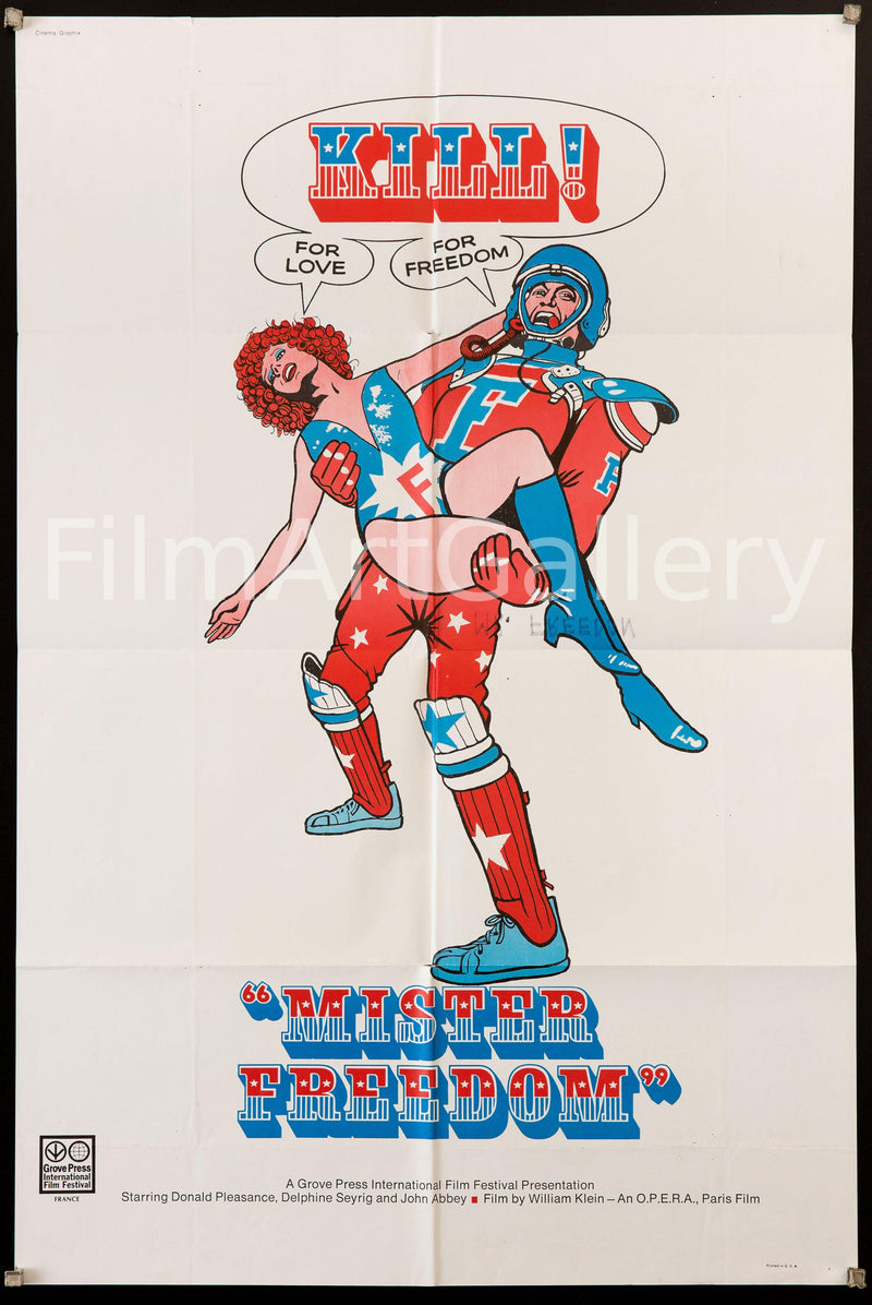 Mister Freedom 1 Sheet (27x41) Original Vintage Movie Poster