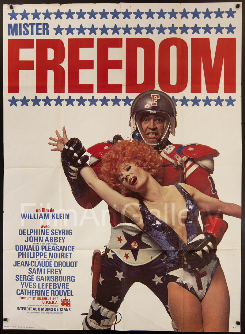 Mister Freedom French 1 panel (47x63) Original Vintage Movie Poster