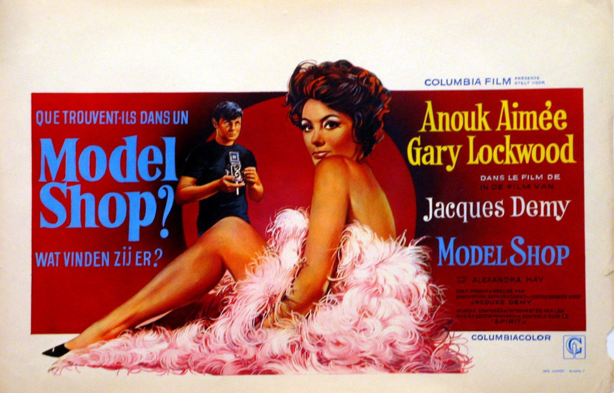 Model Shop Belgian (14x22) Original Vintage Movie Poster