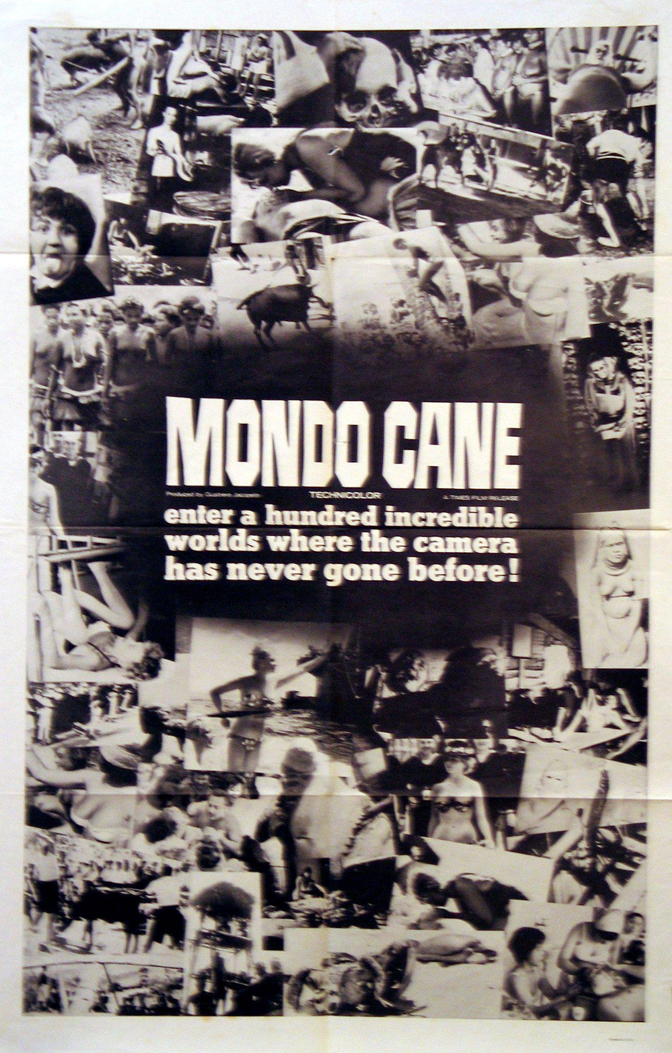 Mondo Cane 1 Sheet (27x41) Original Vintage Movie Poster