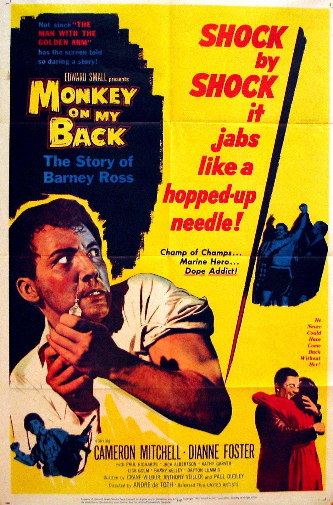 Monkey On My Back 1 Sheet (27x41) Original Vintage Movie Poster