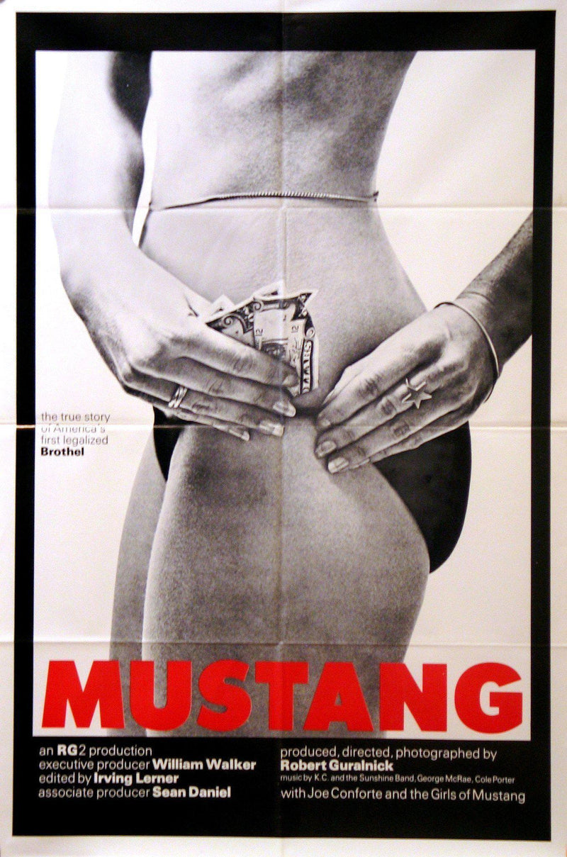 Mustang 1 Sheet (27x41) Original Vintage Movie Poster