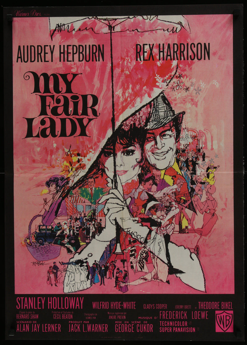 My Fair Lady French Small (23x32) Original Vintage Movie Poster