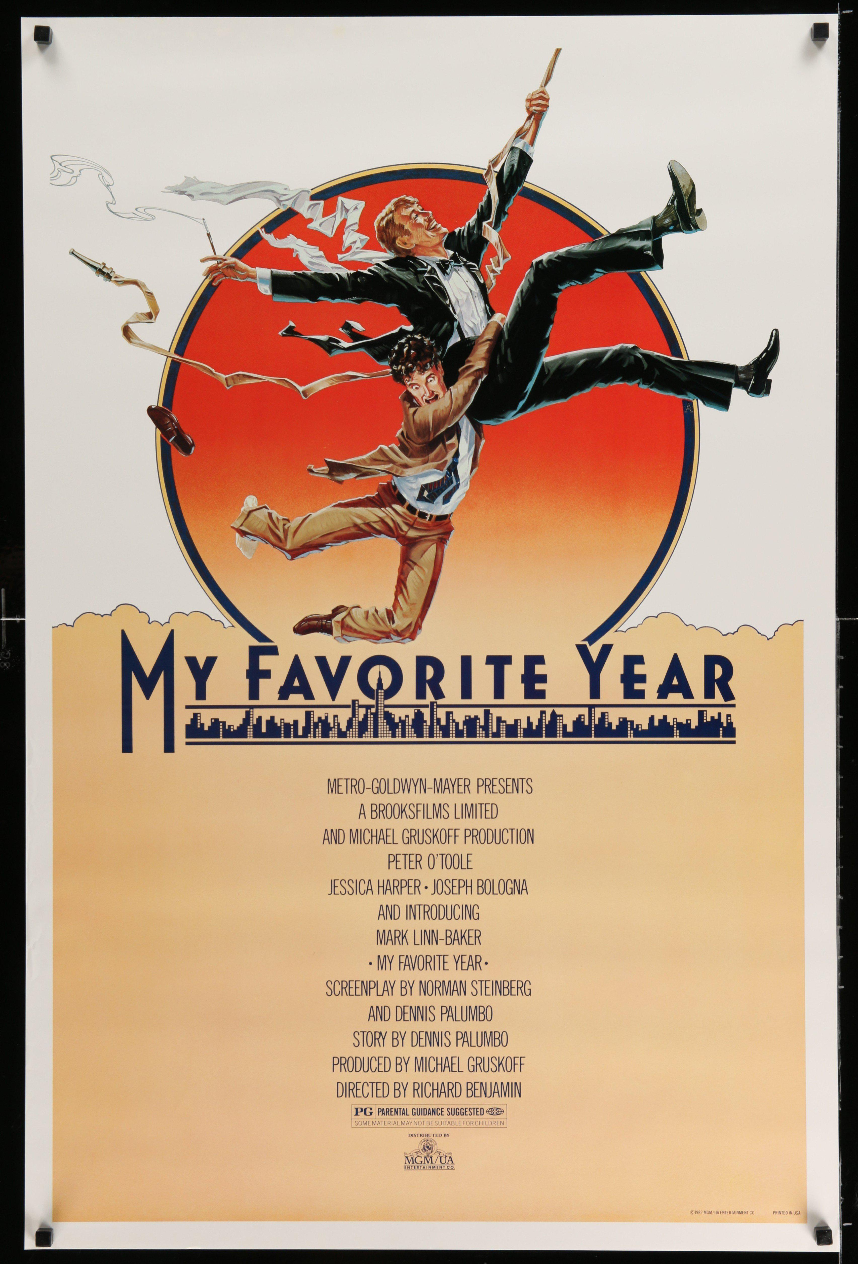 My Favorite Year 1 Sheet (27x41) Original Vintage Movie Poster