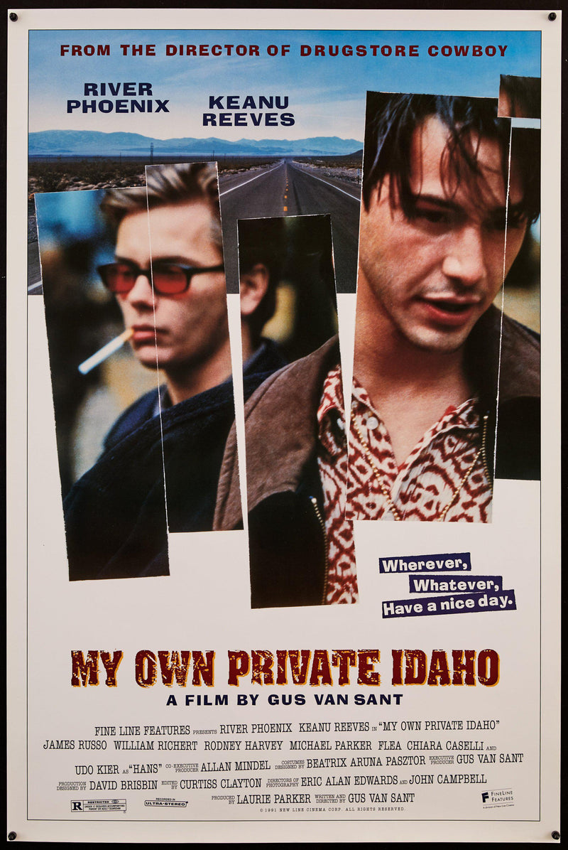 My Own Private Idaho 1 Sheet (27x41) Original Vintage Movie Poster