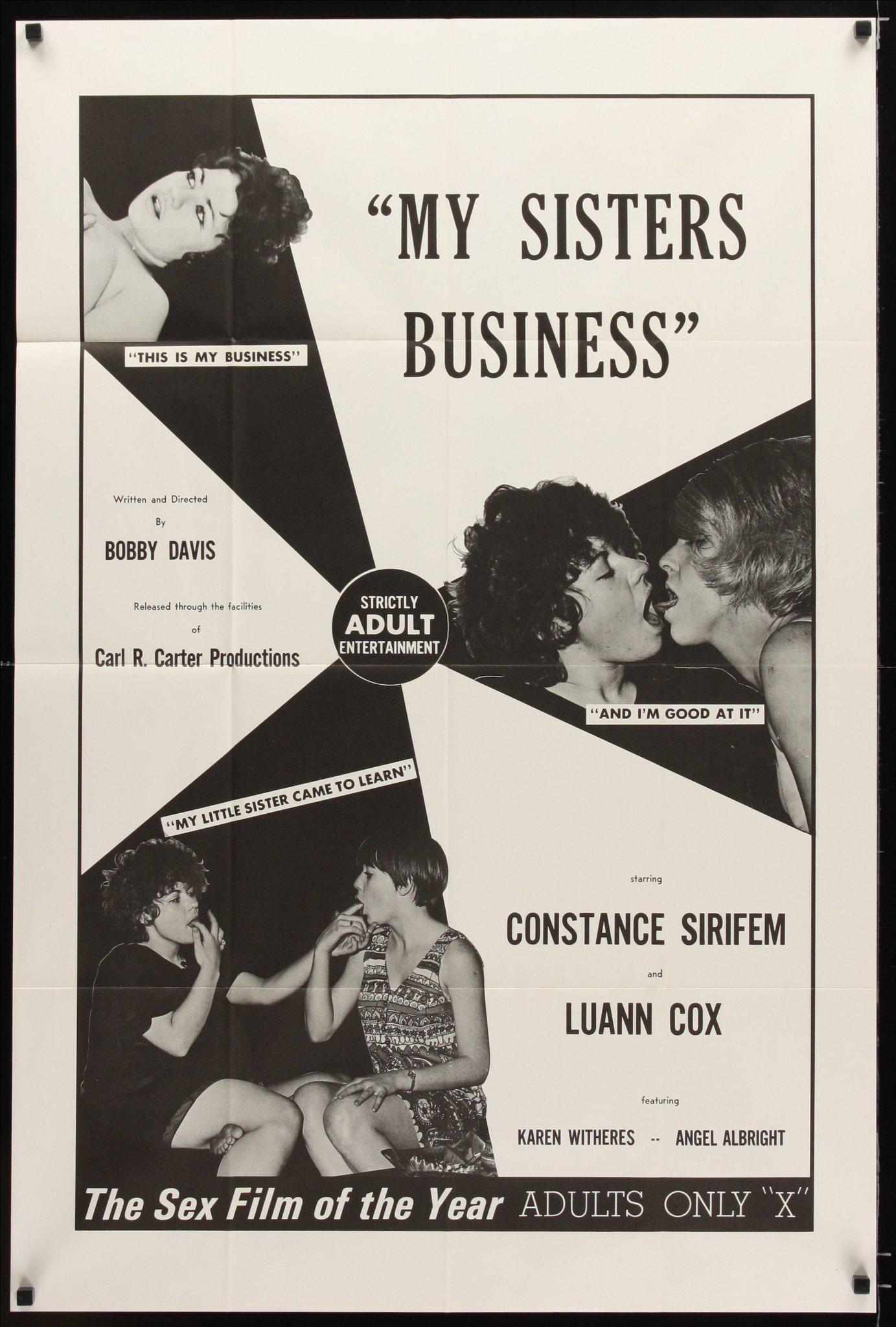 My Sister's Business 1 Sheet (27x41) Original Vintage Movie Poster