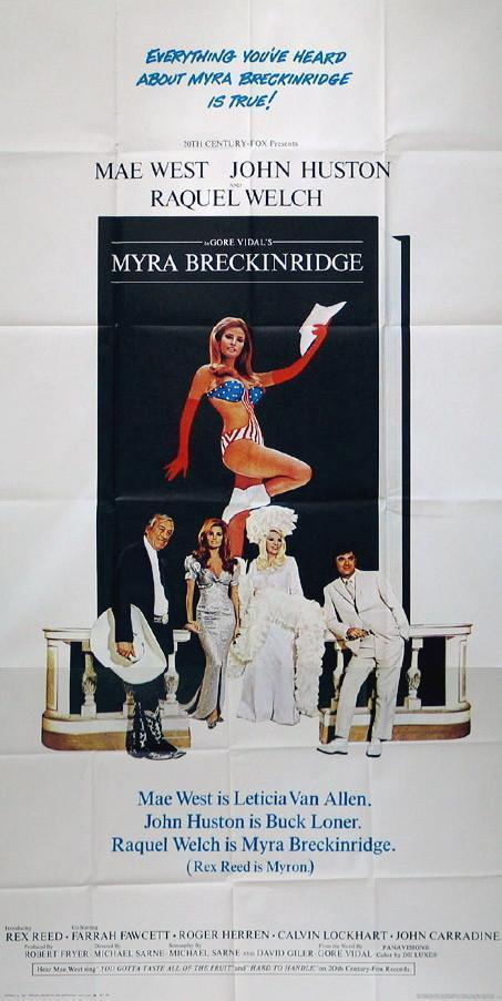 Myra Breckinridge 3 Sheet (41x81) Original Vintage Movie Poster