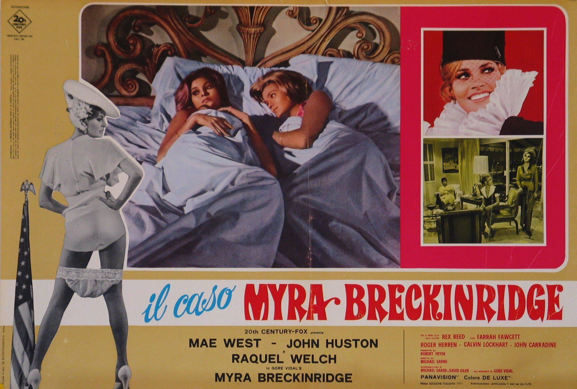 Myra Breckinridge Italian Photobusta (18x26) Original Vintage Movie Poster