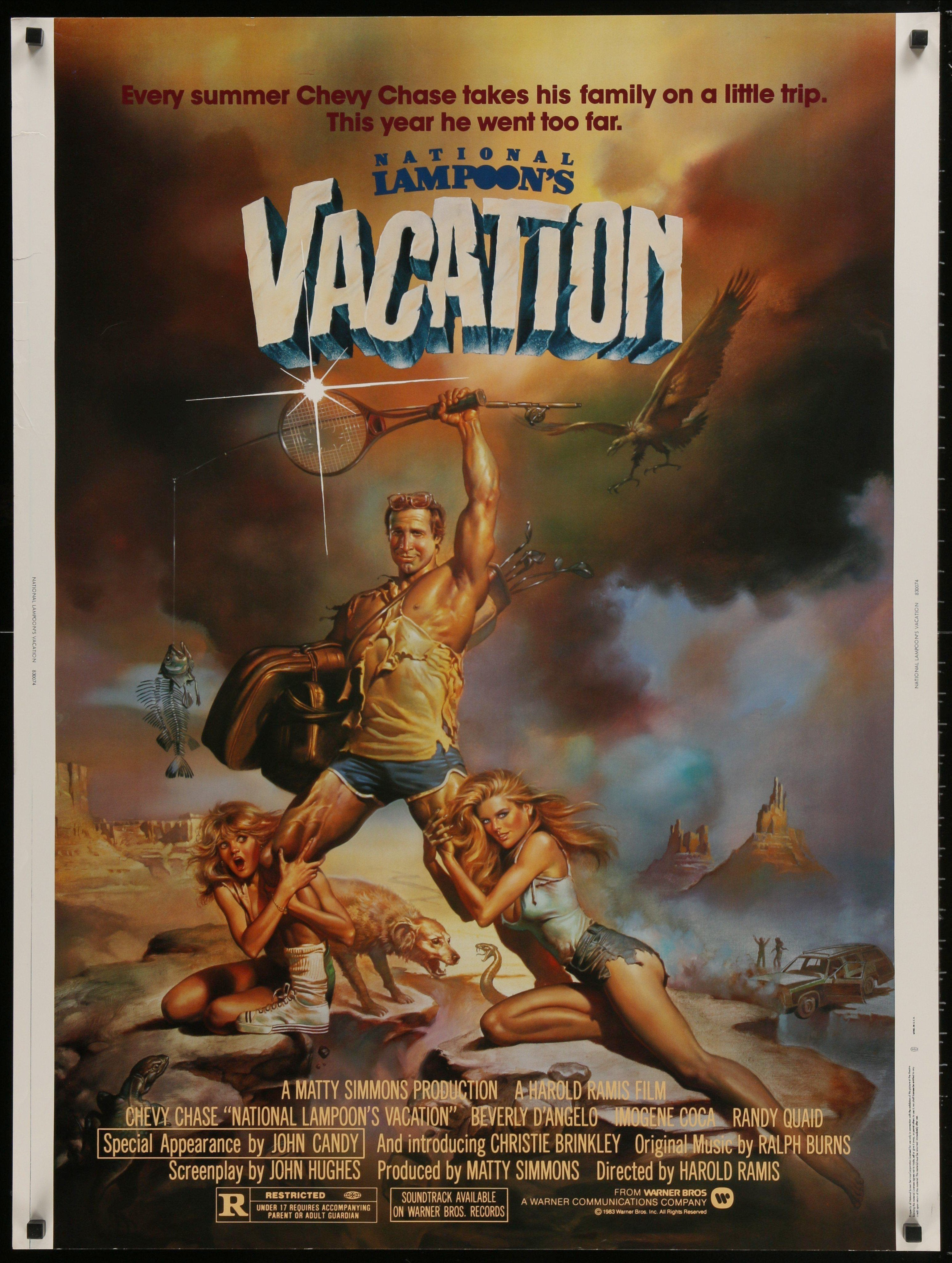 National Lampoon's Vacation 30x40 Original Vintage Movie Poster