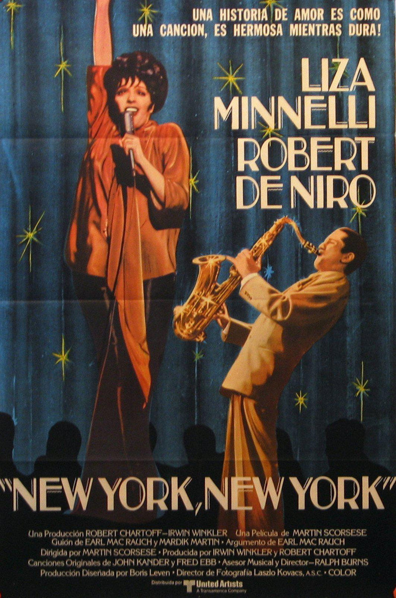 New York, New York 1 Sheet (27x41) Original Vintage Movie Poster