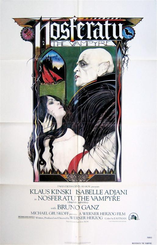 Nosferatu 1 Sheet (27x41) Original Vintage Movie Poster