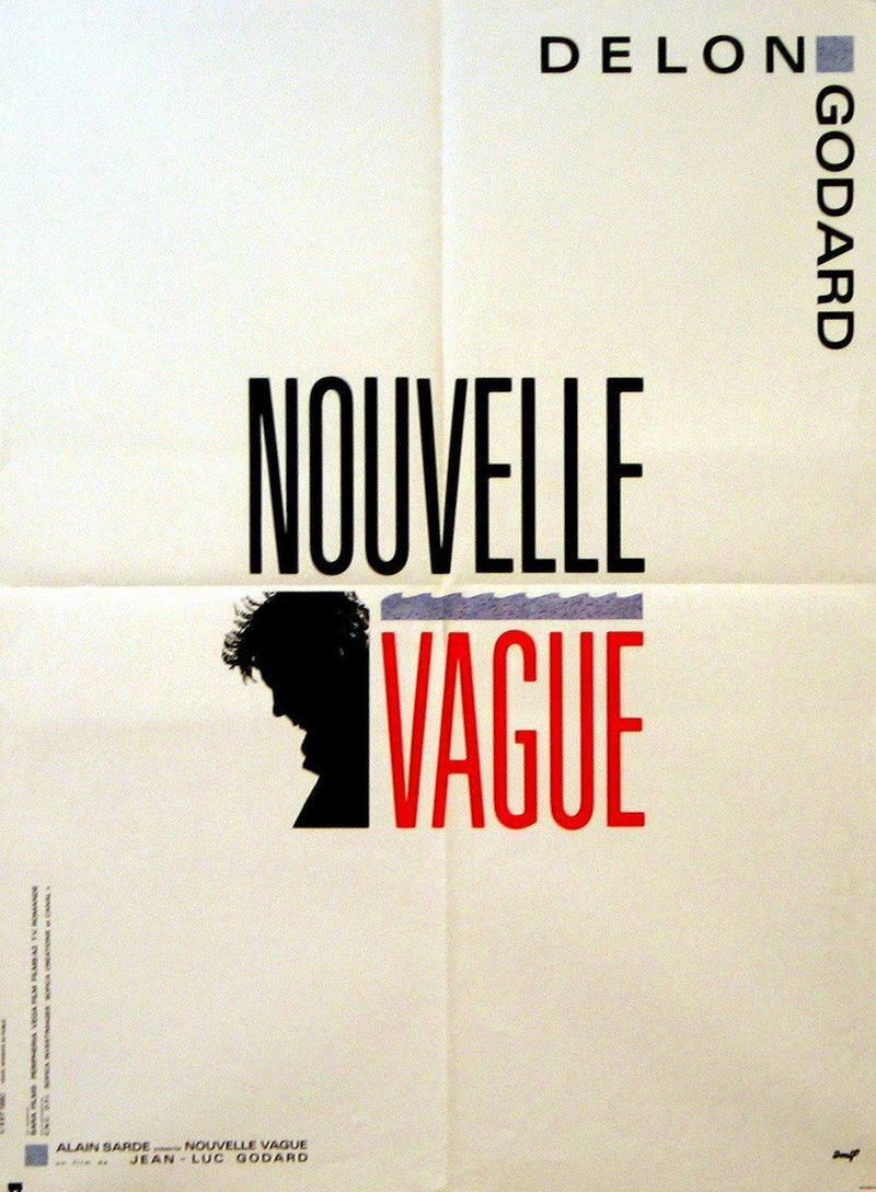 Nouvelle Vague French small (23x32) Original Vintage Movie Poster