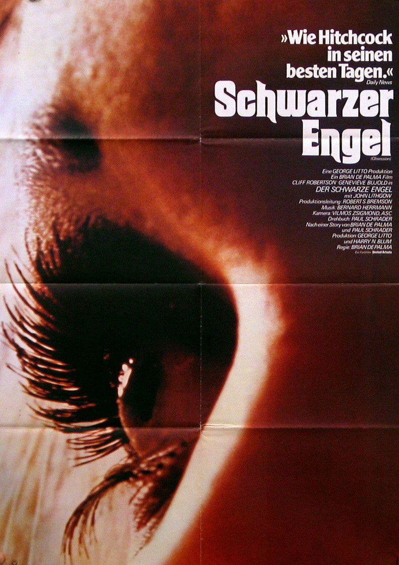 Obsession German A1 (23x33) Original Vintage Movie Poster