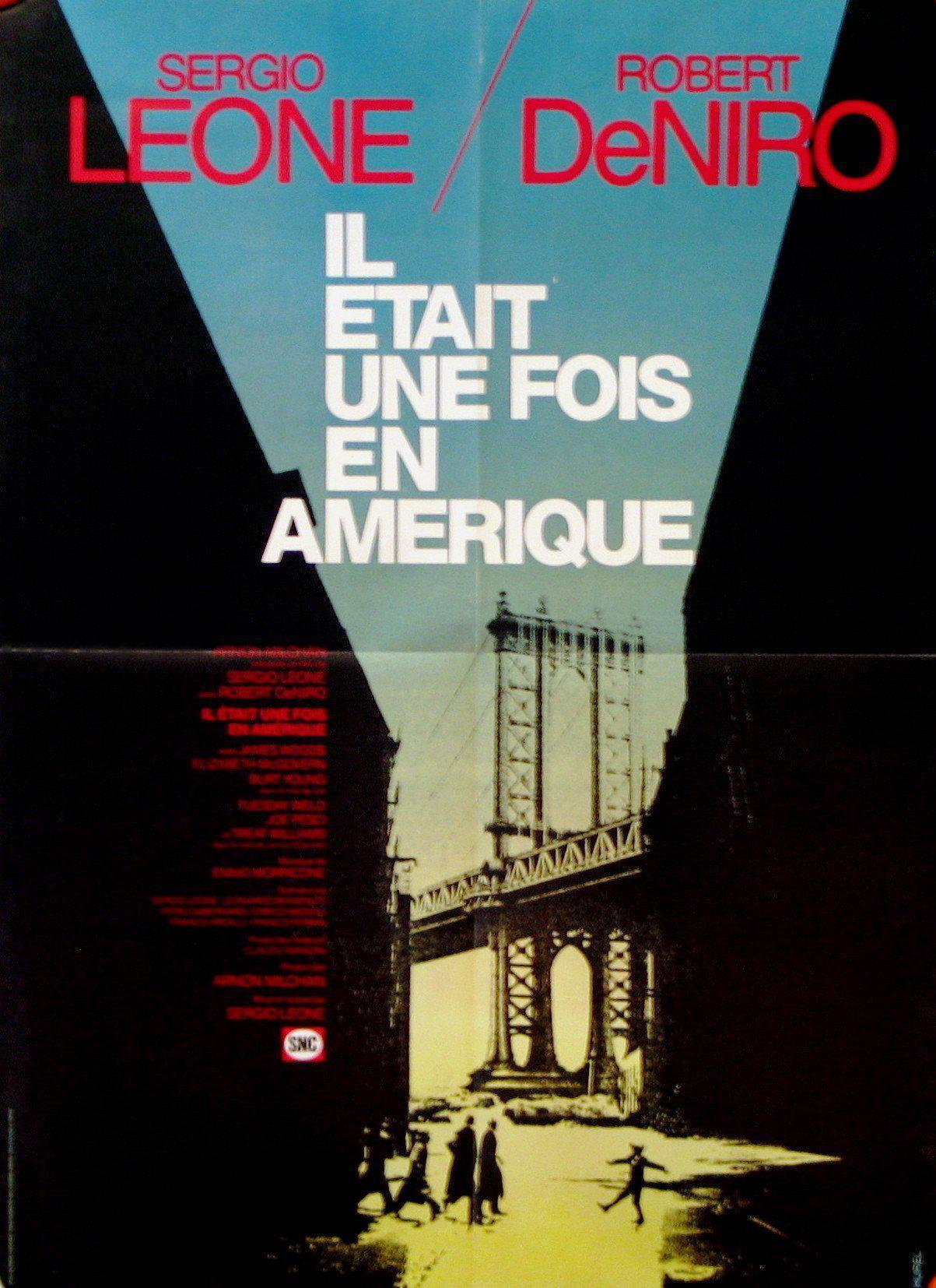 Once Upon a Time in America French small (23x32) Original Vintage Movie Poster