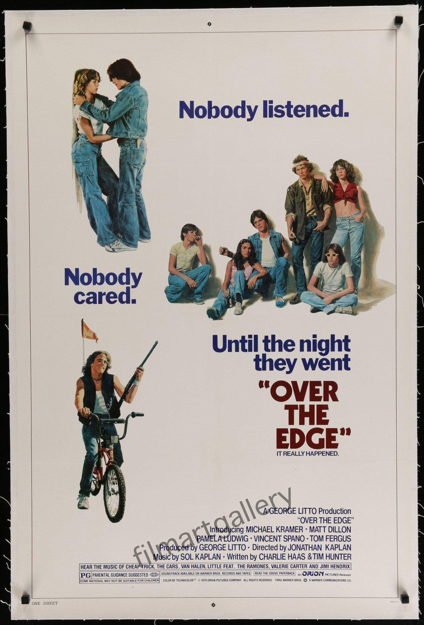 Over the Edge 1 Sheet (27x41) Original Vintage Movie Poster