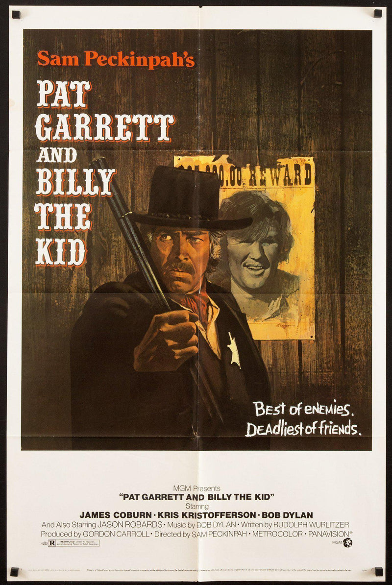 Pat Garrett and Billy the Kid 1 Sheet (27x41) Original Vintage Movie Poster