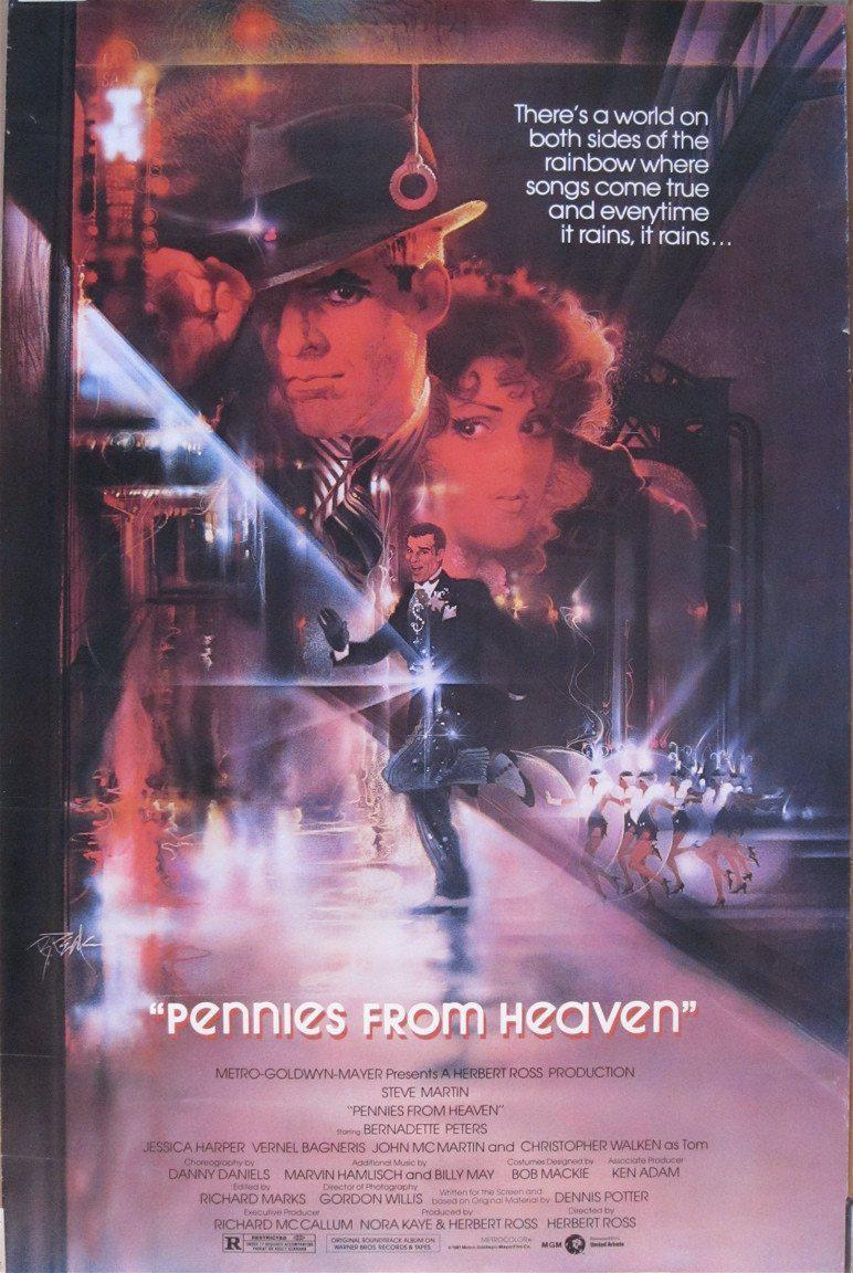 Pennies From Heaven 1 Sheet (27x41) Original Vintage Movie Poster