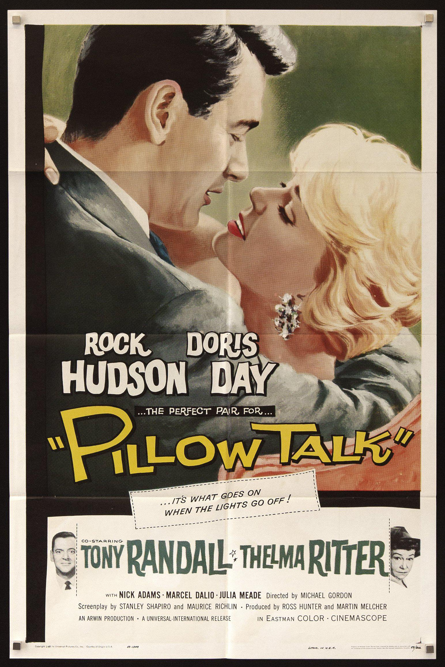 Pillow Talk 1 Sheet (27x41) Original Vintage Movie Poster