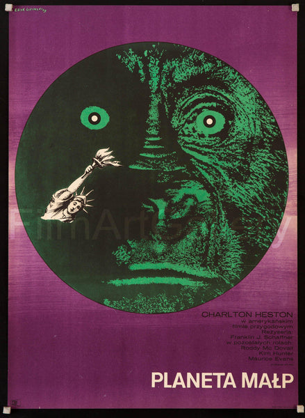 Polish Vintage Original Movie Poster
