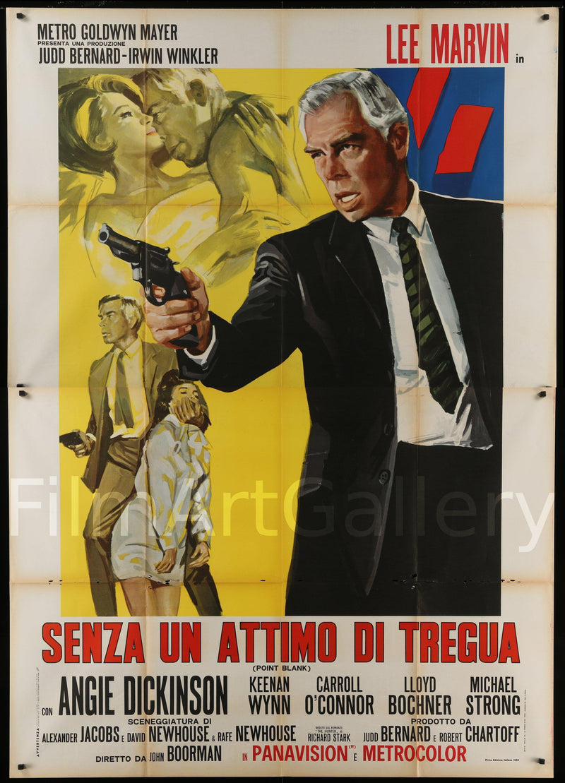 Point Blank Italian 4 Foglio (55x78) Original Vintage Movie Poster