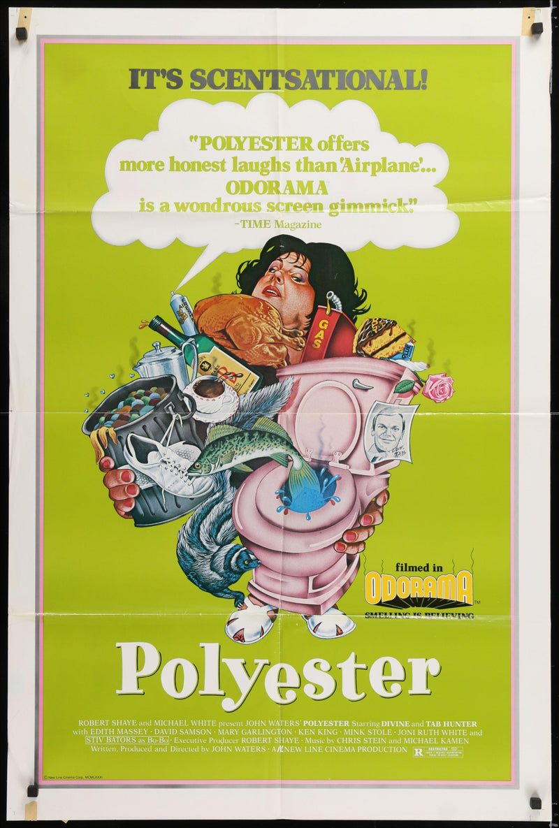 Polyester 1 Sheet (27x41) Original Vintage Movie Poster