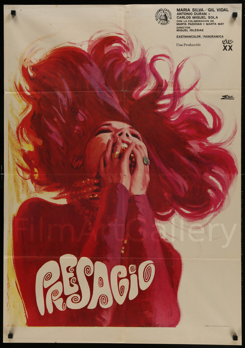 Presage 1 Sheet (27x41) Original Vintage Movie Poster