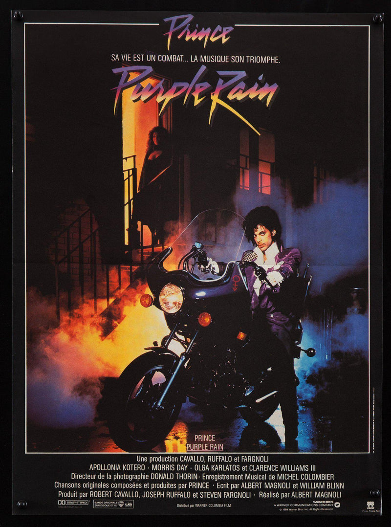 Purple Rain French mini (16x23( Original Vintage Movie Poster