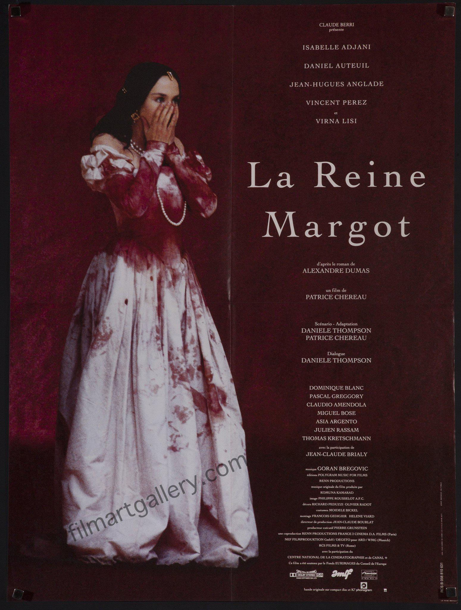 Queen Margot (La Reine Margot) French small (23x32) Original Vintage Movie Poster