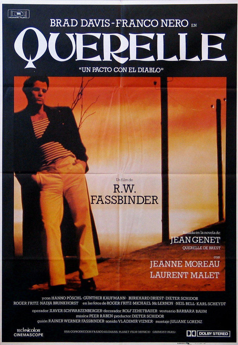 Querelle 1 Sheet (27x41) Original Vintage Movie Poster